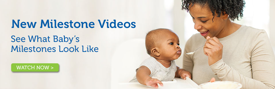 Watch to learn about baby's milestones