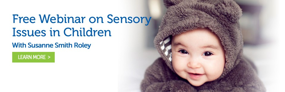 Free Webinar on Sensory Issues