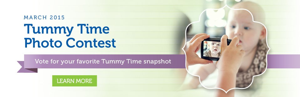 March Tummy Time Contest Voting