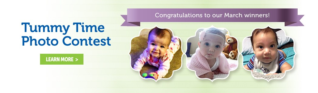 Pathways March Tummy Time Photo Contest Winners