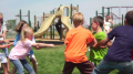kids playing tug of war - sensory integration video