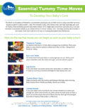 Essential Tummy Time Moves