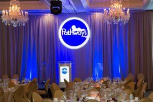 Pathways 31st dinner 2015 podium
