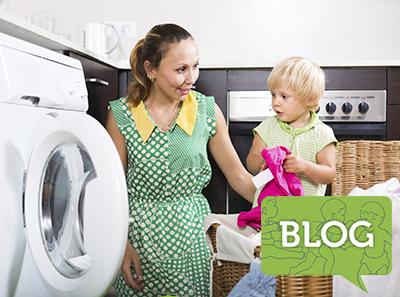 Home family laundry