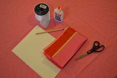 supplies for valentine's day kids' craft