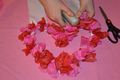 Diy Valentine S Day Wreath Fine Motor Practice Pathways Org