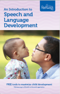 Speech and Language Development brochure cover