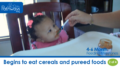 4 to 6 months feeding milestones video