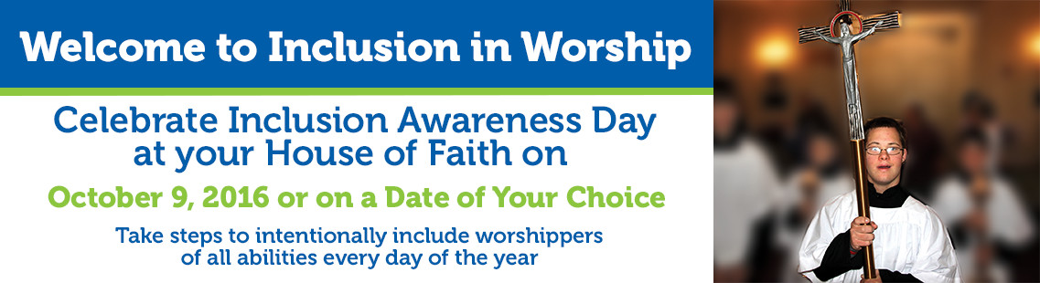 Inclusion in worship fall banner 2016