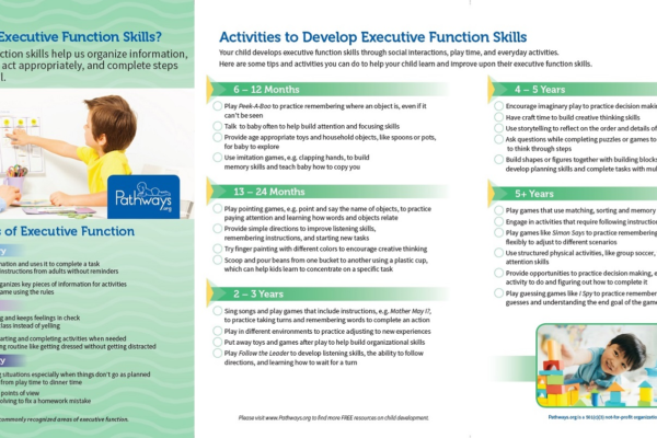 Executive Function Brochure inside