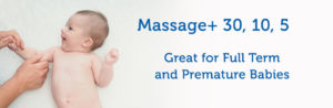 Baby massage for full term and premature babies