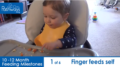 10 to 12 month feeding milestones video