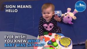 use sign language to communicate with baby
