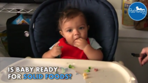 is baby ready for solid foods?
