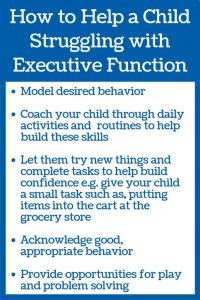 how to help your child struggling with executive function